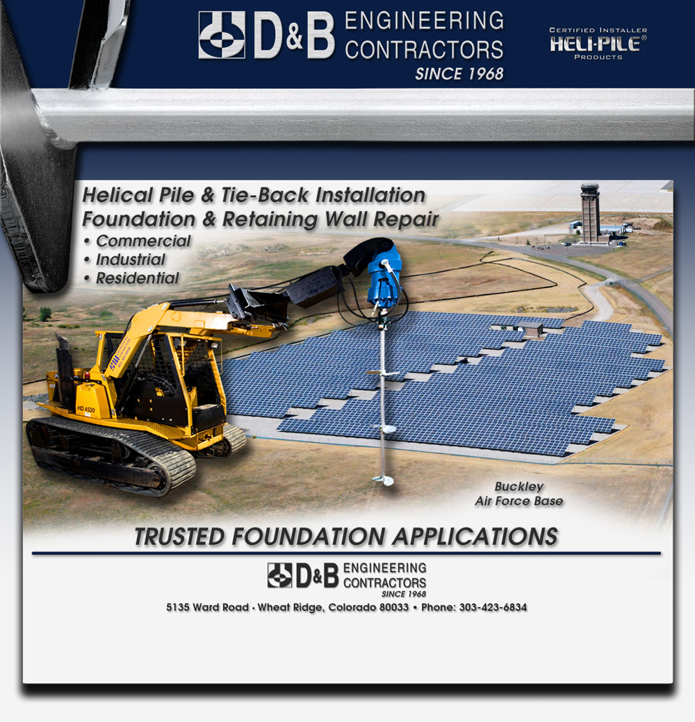 D&B Engineering Contractors - Helical Pile/Helical Pier