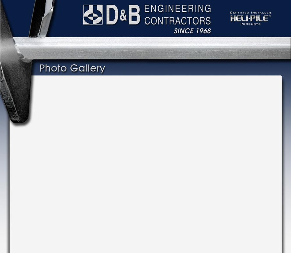 D Amp B Engineering Contractors Photo Gallery